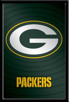 Green Bay Packers NFL Logo Poster