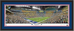 New York Giants Super Bowl XLVI Panoramic Poster