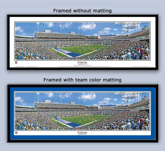 Buffalo Bills Ralph Wilson Stadium 28 Yard Line Poster