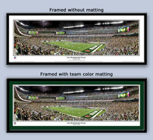 New York Jets MetLife Stadium Framed Panoramic Poster