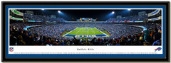 Buffalo Bills Ralph Wilson Stadium End Zone Framed Picture matted