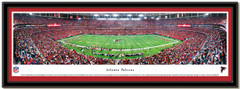 Atlanta Falcons Georgia Dome Panoramic Framed Picture matted