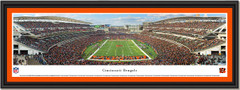Bengals Paul Brown Stadium Framed End Zone Picture