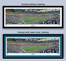 Detroit Lions Ford Field Rob Arra Panoramic Framed Poster