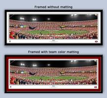San Francisco 49ers 3Com Park Panoramic Framed Poster