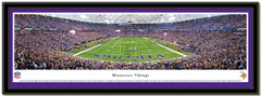 Minnesota Vikings Hubert H. Humphrey Metrodome End Zone Poster matted