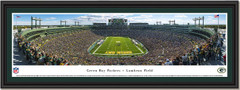 Green Bay Lambeau Field End Zone Panoramic Poster