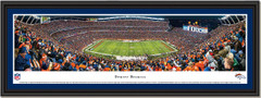 Denver Broncos Mile High Stadium Framed Panoramic Picture