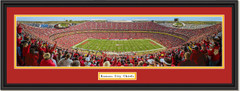 Kansas City Chiefs Arrowhead Stadium Framed Panoramic Picture