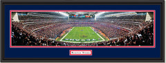Houston Texans Reliant Stadium Panoramic Framed Picture