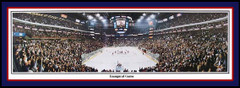 Columbus Blue Jackets Nationwide Arena Inaugural Game Poster