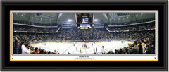 Pittsburgh Penguins Return of #66 --Mario Lemieux -- Framed Panoramic Poster
