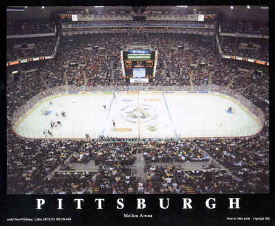 Pittsburgh Penguins - Mellon Arena Poster