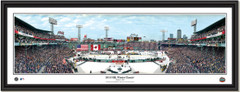 NHL Winter Classic 2010 Fenway Park Framed Poster