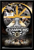 Boston Bruins Stanley Cup 2011 Celebration Poster