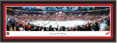 Detroit Red Wings Joe Louis Arena NHL Hockey Arena Poster