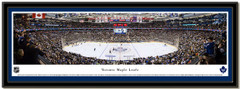 Toronto Maple Leafs Air Canada Centre Hockey Arena Poster matted