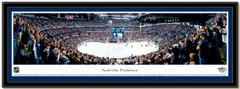 Nashville Predators Bridgestone Arena Hockey Arena Poster matted