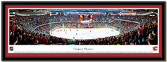 Calgary Flames Scotiabank Saddledome Hockey Arena Poster matted