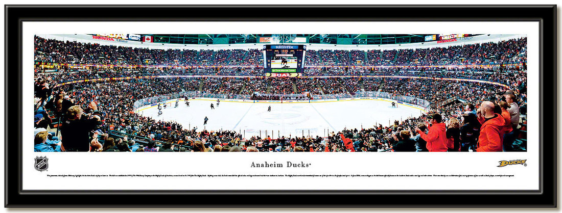 Anaheim Ducks Honda Center Hockey Arena Poster no mat