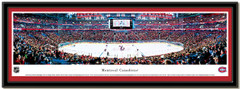 Montreal Canadiens Centre Bell Hockey Poster matted