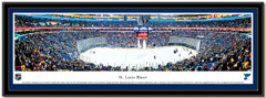 St Louis Blues Scottrade Center Framed Hockey Poster