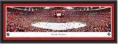 Florida Panthers Bank Atlantic Center Framed Hockey Picture