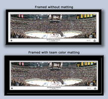 LA Kings 2012 Stanley Cup Celebration with Trophy Print