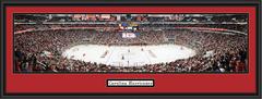 Carolina Hurricanes Panoramic Hockey Home Ice Poster