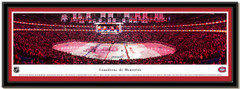 Montreal Canadiens Centre Bell Hockey Home Ice Poster matted