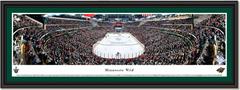 Minnesota Wild Xcel Energy Center Overtime Goal Poster