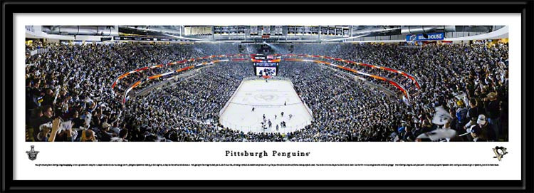 Pittsburgh Penguins Conference Semifinal Hockey Framed Picture no mat