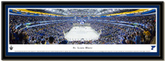 St Louis Blues Scottrade Center Quarterfinals Framed Picture matted