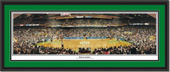 Boston Celtics Boston Garden Panoramic Poster