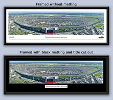 Daytona International Speedway NASCAR poster