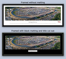 NASCAR Darlington Raceway Panoramic Aerial Photo