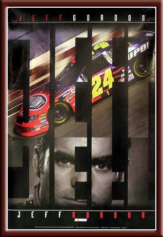 NASCAR - Jeff Gordon Open Edition Poster