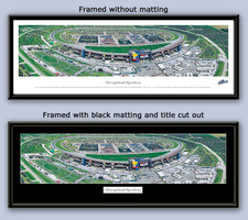 NASCAR Chicagoland Speedway Aerial Panoramic Photo