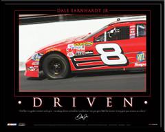 NASCAR DRIVEN Motor-vational Poster