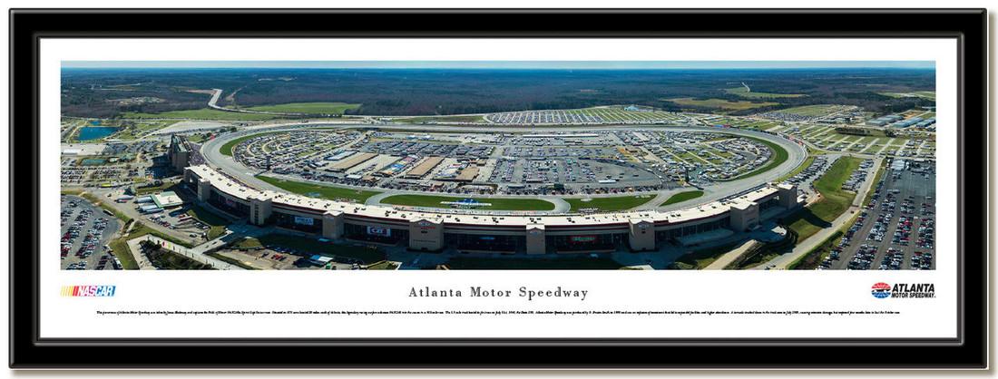 NASCAR Atlanta Motor Speedway Framed Aerial Poster no mat