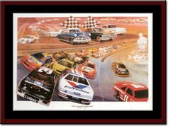 Legends of NASCAR Print