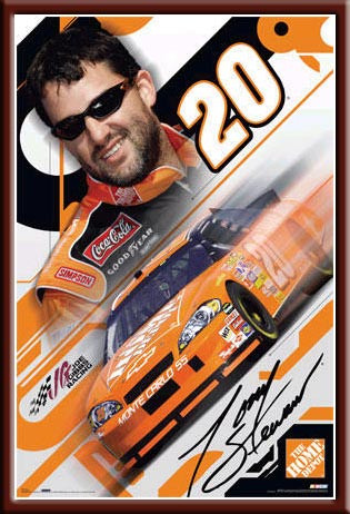 NASCAR - Tony Stewart #20 Nascar Poster