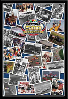 Daytona 500 Framed Picture Collage