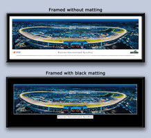 Daytona 500 International Speedway Twilight Framed Picture