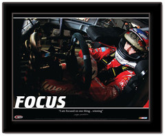 FOCUS Motivational Framed Poster
