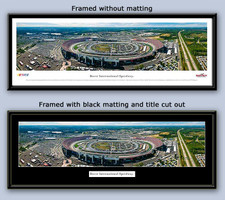 Dover International Speedway Panoramic Framed Poster