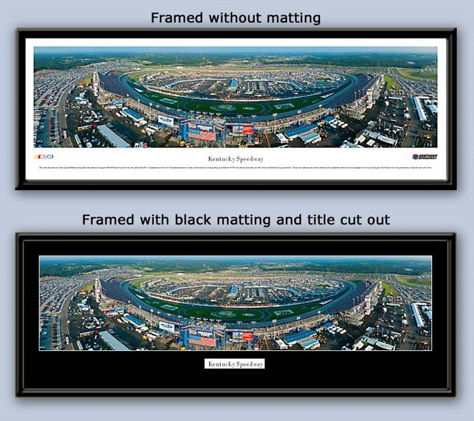 NASCAR Kentucky Motor Speedway Aerial Panoramic Picture
