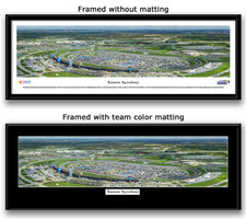 NASCAR Kansas Speedway Panoramic Photo