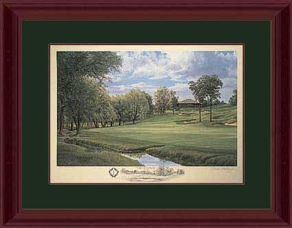 18th Hole at Muirfield Village - Dublin, Ohio