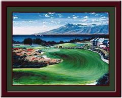 Kapalua - Paradise Golf Print